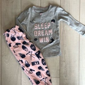 CARTER'S Toddler Girl Pajama Set